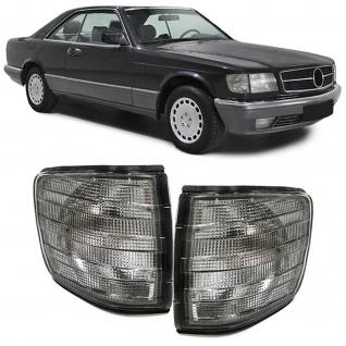Blinker schwarz smoke für Mercedes S-Klasse Coupe C126 SEC 80-91