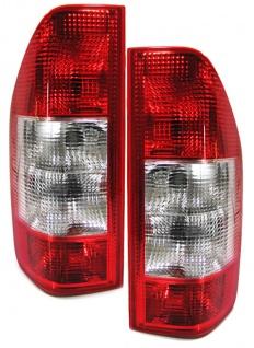 Facelift Rückleuchten rot klar - Set für Mercedes Sprinter 00-06