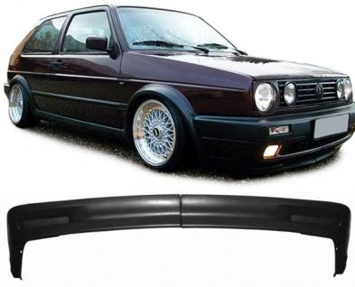 Spoiler Lippe für breite Stoßstange für VW Golf 2 GL