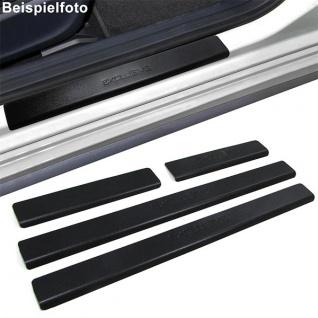 Einstiegsleisten Schutz schwarz Exclusive für Opel Vectra C ab 02 - Vorschau 2