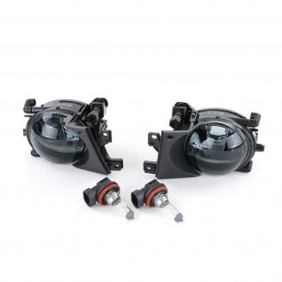Klarglas Nebelscheinwerfer H8 schwarz smoke Paar für BMW 5er E39 00-04