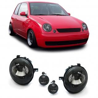 Schwarze Klarglas Scheinwerfer + Blinker für VW Lupo