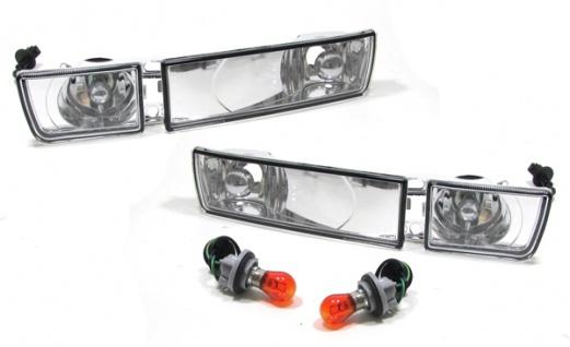 Klarglas Blinker + Nebelscheinwerfer - Set für VW Golf 3 91-97