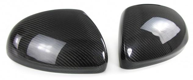 Echt Carbon Spiegelkappen zum Austausch für VW Tiguan Sharan Alhambra Yeti