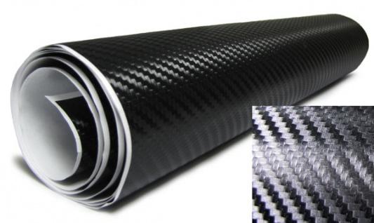 3D Carbonfolie schwarz selbstklebend 30cmx150cm