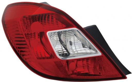 Rückleuchte / Heckleuchte links TYC für Opel Corsa D 06-