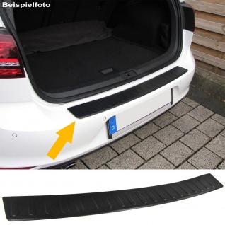 Ladekantenschutz Stoßstangenschutz Edelstahl schwarz für Mercedes A Klasse W176