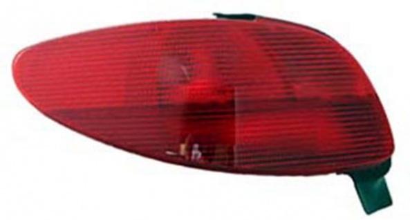 Rückleuchte / Heckleuchte links TYC für Peugeot 206 98-03