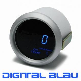 Öltemperatur Anzeige Zusatz Instrument 52mm digital Magic