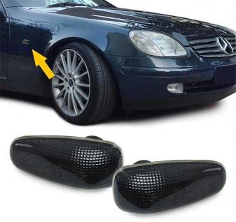 Seitenblinker smoke schwarz Paar für Mercedes Sprinter Vito W210 SLK R170