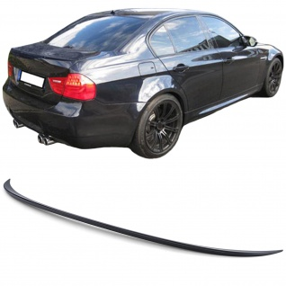 Heckspoiler Spoilerlippe Sport Optik für BMW 3er E90 Limousine ab 06