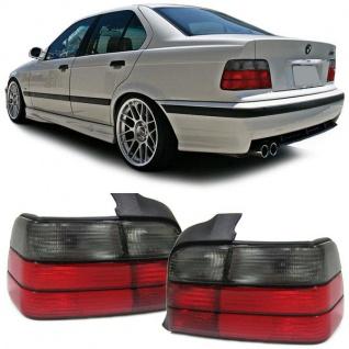 Rückleuchten rot schwarz für BMW 3er E36 Limousine 90-99