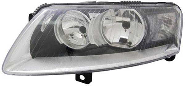 H7 / H15 Scheinwerfer links TYC für Audi A6 4F 08-11