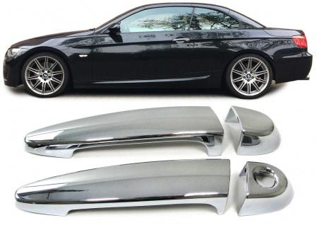 Türgriffe Blenden Cover Abdeckung chrom für BMW 3ER E92 E93 1ER E81 E82 E88