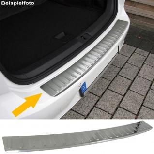 Ladekantenschutz Stoßstangenschutz Edelstahl matt für Mercedes B Klasse W246