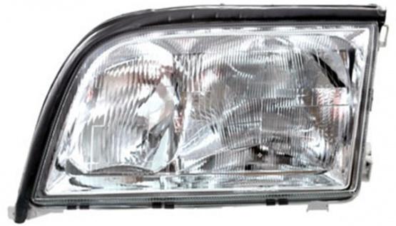 H1 / H1 / H7 Scheinwerfer links TYC für Mercedes S Klasse 95-98