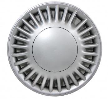 Radkappen Radzierblenden für Stahlfelgen Set Tenzo-R VI 14 Zoll silber - Vorschau 1