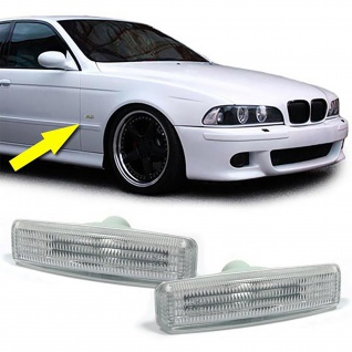 Seitenblinker weiß - Paar für BMW 5er E39 95-03