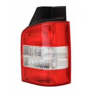 Rückleuchte rot klar rechts - Flügeltüren für VW T5 Bus + Transporter 03-09