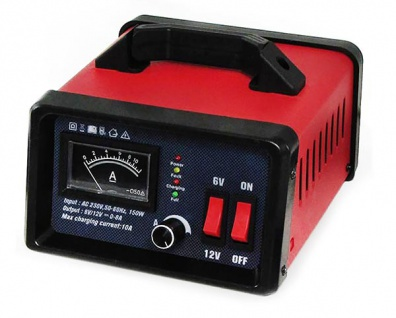 Batterie Ladegerät Erhaltung für PKW Motorrad 6V 12v 0-10A 230V 6-100Ah - Vorschau 3