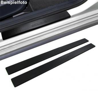 Einstiegsleisten Schutz schwarz Exclusive für Citroen C1 05-12 - Vorschau 2