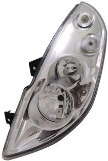 H1 / H7 Scheinwerfer links TYC für Renault Master III 10-