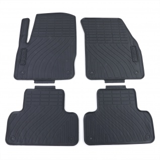 Premium Gummi Fußmatten Set Schwarz für Land Rover Range Rover Evoque LV ab 11