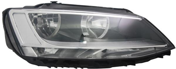 H7 / H7 Scheinwerfer rechts TYC für VW Jetta IV 162 10-