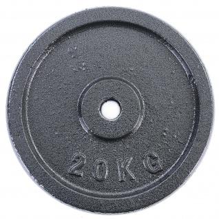 20 kg Hantelscheibe Gusseisen Hantel Gewicht versiegelt 30mm