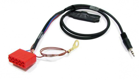 Line IN Aux Adapter MP3 iPod 10 polig für Audi VW Skoda Seat