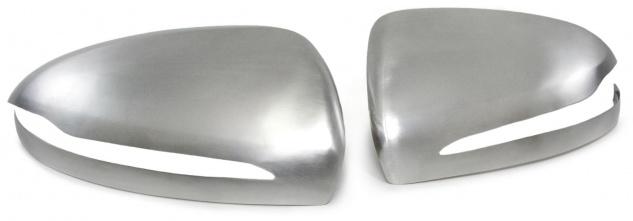 Aussen Spiegelkappen Abdeckungen Cover Alu matt für Mercedes C Klasse W205 ab 14