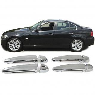 Türgriff Blende Cover Abdeckung chrom für BMW 1ER E87 X6 E71 3ER E90
