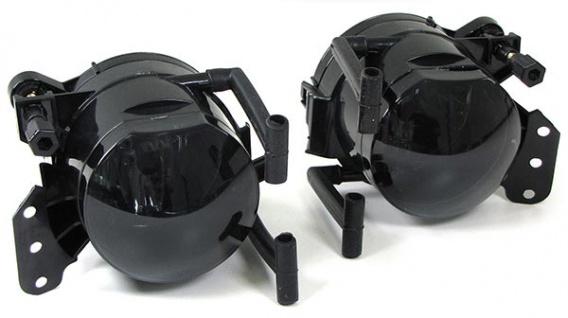 Klarglas Nebelscheinwerfer Set schwarz smoke passt für BMW E90 E91 M Stoßstange