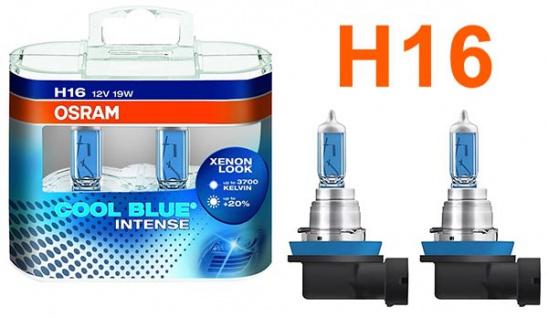 Osram Cool Blue Intense H16 19W 12v Halogen Leuchtmittel