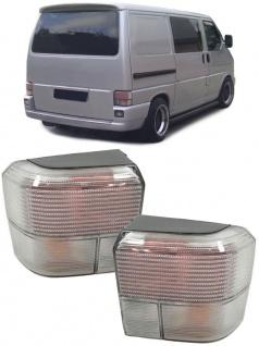 Rückleuchten silber weiß - Paar für VW Transporter Bus T4