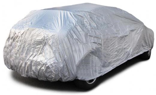 Auto Schutz Abdeckung Vollgarage Car Cover mit Türausschnitt für Fließheck