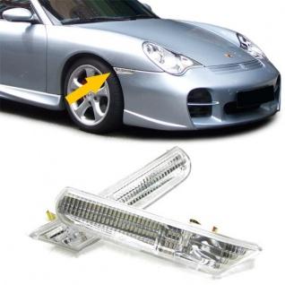 Klarglas Seitenblinker Kristall für Porsche Boxster 986 + 911 996