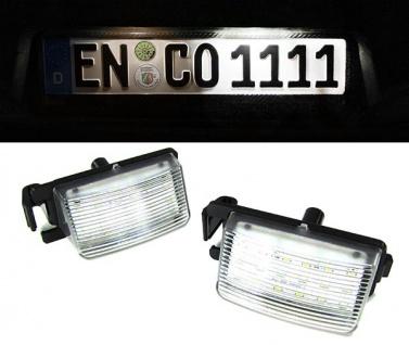 LED Kennzeichenbeleuchtung weiß 6000K für Nissan 350Z 370Z GTR Infiniti G35 G37
