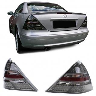 LED Klarglas Rückleuchten Schwarz Smoke für Mercedes SLK R170 96-04