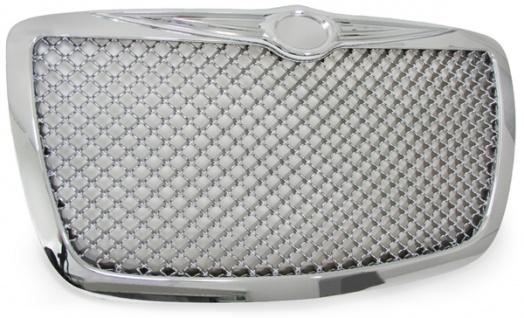 Kühlergrill Grill IM Bentley Wabendesign chrom für Chrysler 300C 04-11