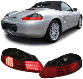 LED Rückleuchten rot schwarz für Porsche Boxster 986 96-04