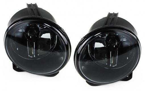 Klarglas Nebelscheinwerfer schwarz für BMW 3er E92 E93 5er F10 F11 F07 2er F22