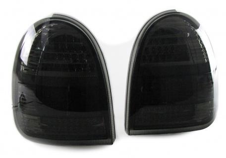 LED Rückleuchten Schwarz Smoke für Opel Corsa B 3-Türer 93-00