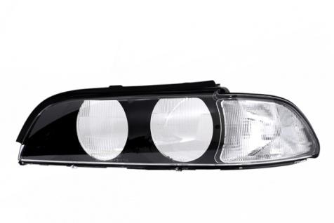 Scheinwerferglas Streuscheibe weiß links TYC für BMW 5er E39 95-00