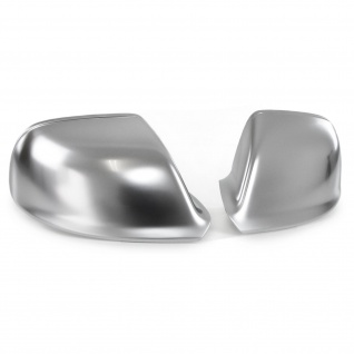 Spiegelkappen Silber Matt zum Austausch für Audi Q5 8R ab 08 Q7 4L 09-15