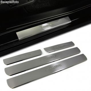 Einstiegsleisten Schutz Edelstahl Exclusive für Honda Civic VIII 4Türer 05-12