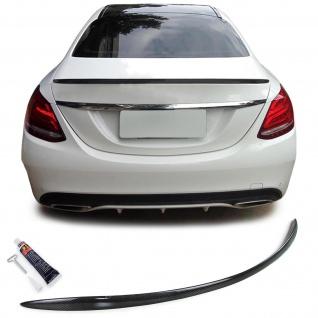 Echt Carbon Heckspoiler Sport Ausführung für Mercedes C Klasse Limousine W205
