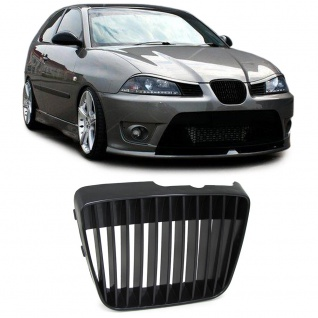 k hlergrill grill ohne emblem schwarz f r seat ibiza. Black Bedroom Furniture Sets. Home Design Ideas