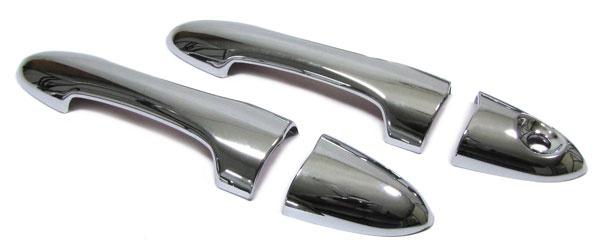 Türgriffe Blenden Cover Abdeckungen chrom 2 Türer für Ford Focus I 98-04