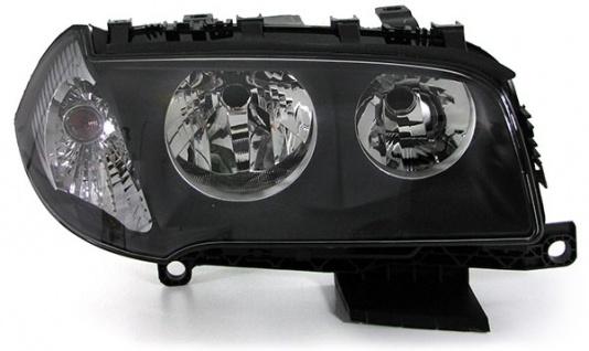 Scheinwerfer H7 H7 mit LWR Motor schwarz rechts für BMW X3 E83 04-06
